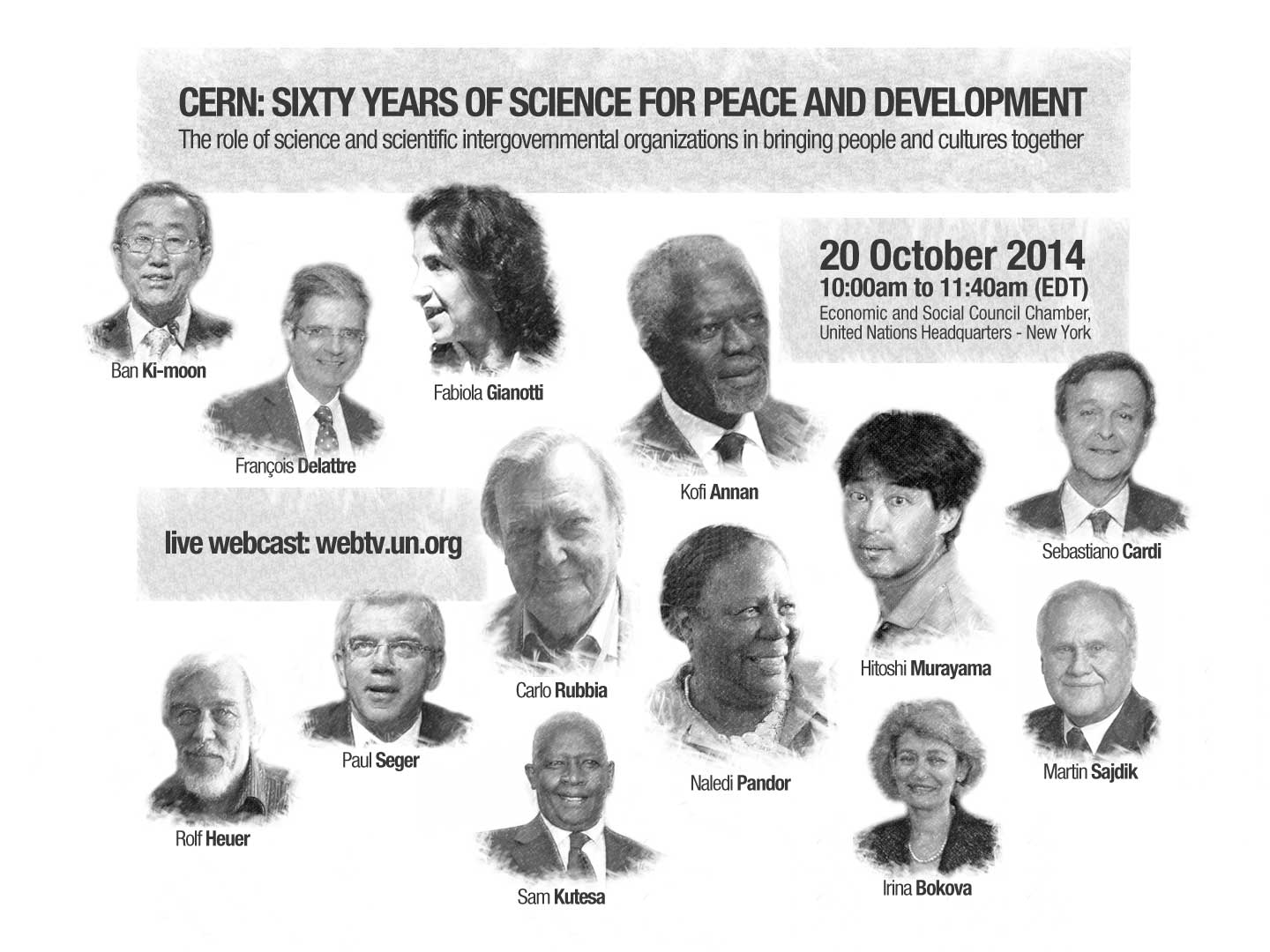 celebrating science for peace and development with the un cern
