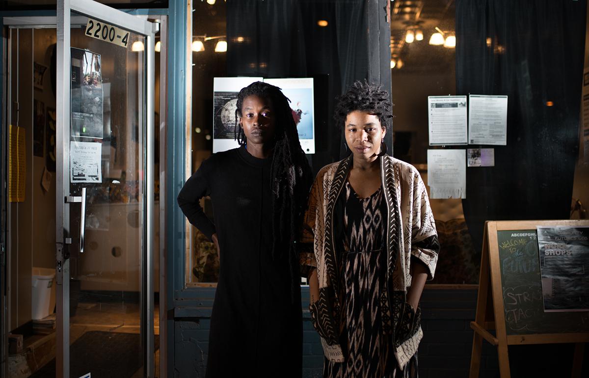 Black Quantum Futurism remporte le prix de résidence Collide 2021