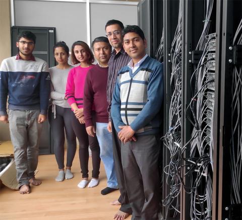 Computing boost for Lebanon and Nepal